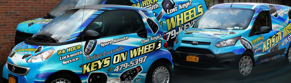 Car locksmith | Keys On Wheels powered by Heritage Locksmith.